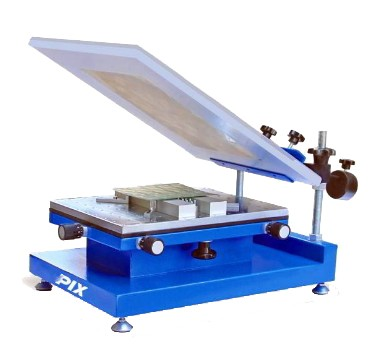 Máquina de impressão de pasta de solda manual de precisão modelo MSP-250