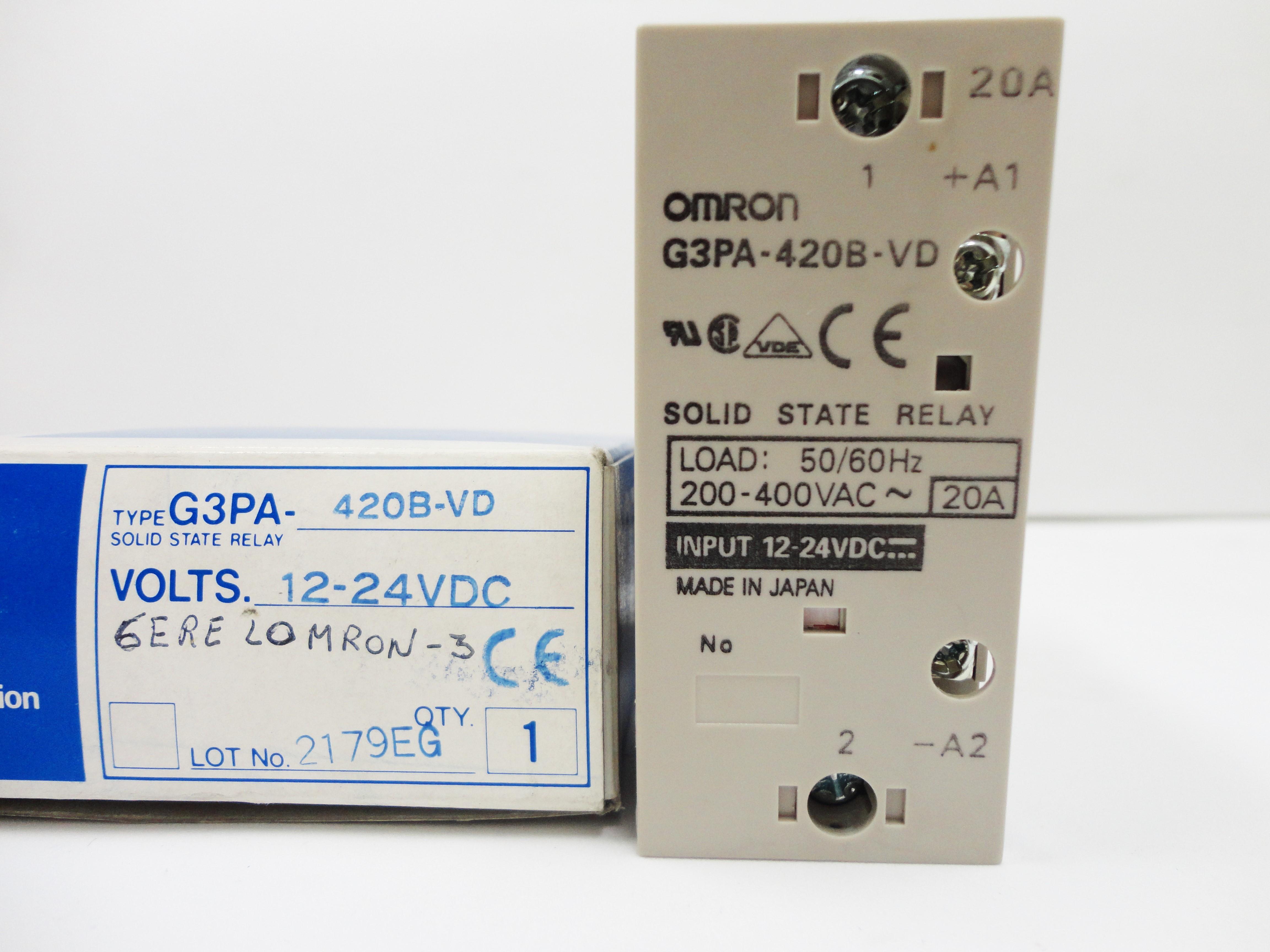 Rele de estado sólido  tipo SSD 3GPA