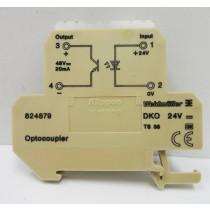 Optoacoplador Weidmuller DKT 4/6 series, fabricação Alemã