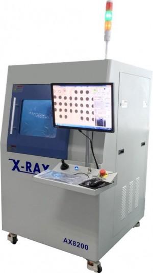 AX8200 - Inspeção e Testes de placas e componentes por RAIO X