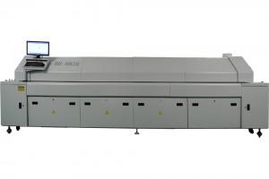 Reflow Oven - Forno de Refusão, para tecnologia SMD, compostos de 4,6,8,10 ou 12 zonas e uma grande variedade de opcionais.