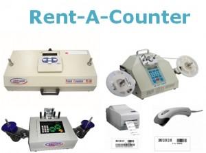 Aluguel de contadores de componentes SMD.