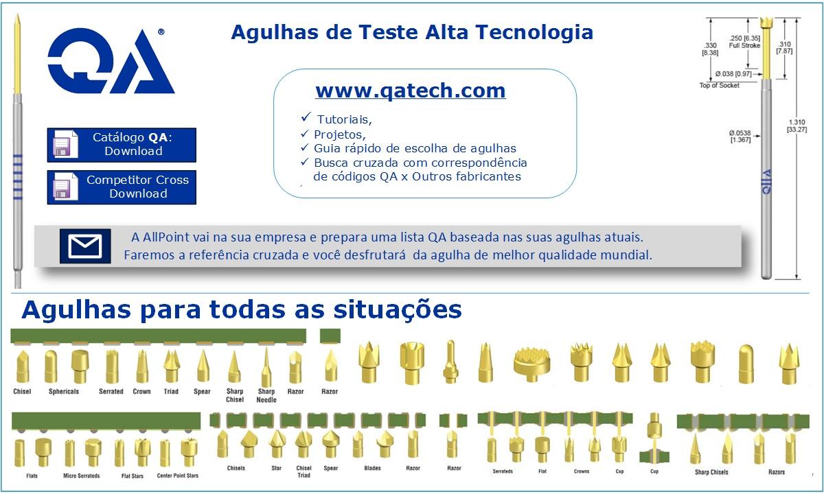 Agulhas de Teste de Placas - QA