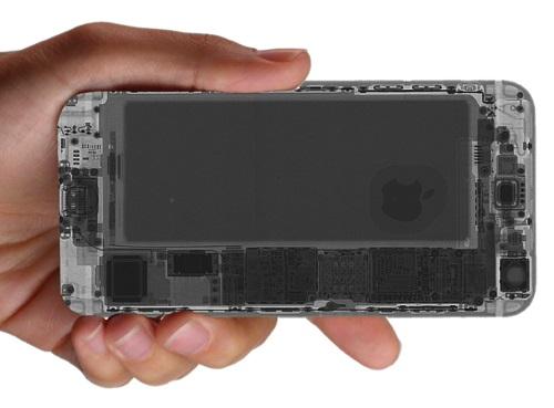 RAIO X de um iPHONE 6