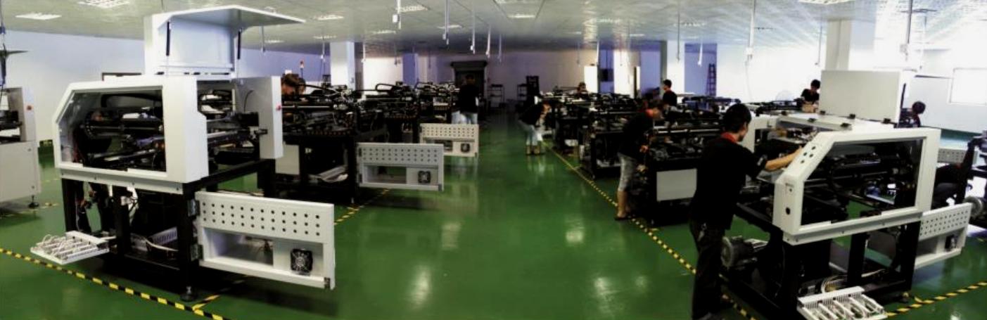visão da fábrica de impressora de pasta de solda