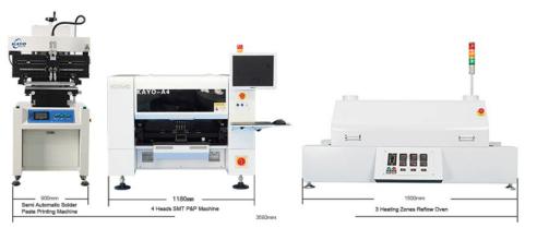 Insersora SMD A4 - Pick & Placer - Baixa Produção