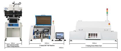 Insersora SMD D2V - Pick & Placer - Protótipos e Baixa Produção