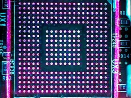 Sistema ótico que mostra claramente, em cores diferentes