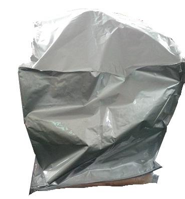 Recuperação de Borra: embalagem de lona aluminizada