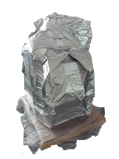 Recuperação de Borra: embalagem à vácuo