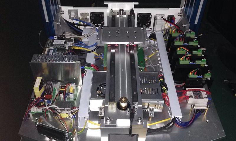 mecanismo do robo de solda
