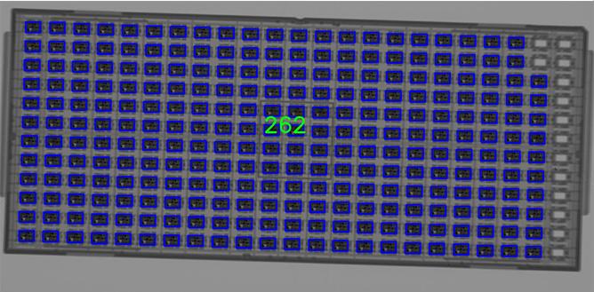 Contador de Componentes por Raios X - X1000
