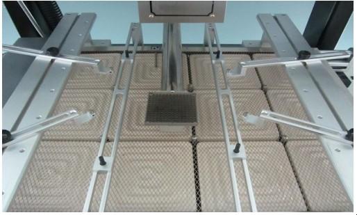 Sistema de ajuste de posicionamento da placa para retrabalho