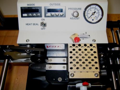 enfitador de componentes - aquecimento duplo
